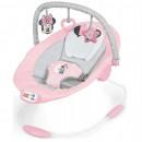 Muzička ležaljka sa vibracijom Kids II Bright Starts Lezaljka Minnie Mouse Rosy Skies 12206