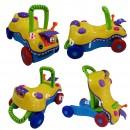 Guralica za prohodavanje i igračka za decu 3 u 1 Multicolor Krokodil
