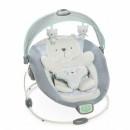 Muzička ležaljka sa vibracijom i svetlom Kids II Ingenuity InLighten Bouncer Twinkle Twinkle Teddy Bear Multicolor Cuna 60726