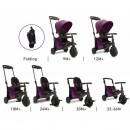 Tricikl Smart Trike Folding 500 9M+ Melange Purple