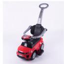 Guralica za decu Sport Car Red sa ručkom za guranje