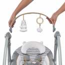 Kids II Muzička ležaljka ljuljaška Boutique Collection Swing `n Go Portable - Bella Teddy 11023