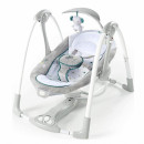 Kids II Muzička ležaljka ljuljaška sa vibracijom Ingenuity ConvertMe 2 Seat - Nash 12055