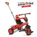 Tricikl za decu sa ručkom za guranje Smart Trike Breeze Red