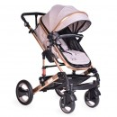 Cangaroo Kolica Gala 2 u 1 Beige Leather