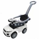 Guralica za decu Sport Car White sa ručkom za guranje