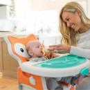 Infantino Multifunkcionalna hranilica 4u1 Grow with me Fox