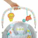 Muzička ležaljka za bebe sa vibracijom Kids II Whimsical Wild 11805