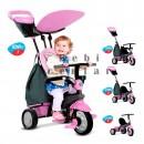 Smart Trike tricikl za decu sa ručkom za guranje Shine Pink 4 u 1