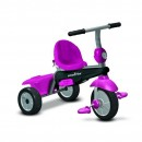 Tricikl za decu sa ručkom za guranje 4 u 1 Smart Trike Vanilla Pink