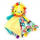 Plišana igračka i ćebence za bebe Kids II Caddle `n Tags Blankie 10213 Sun