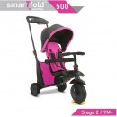 Tricikl Smart Trike Folding 500 9M+ Pink
