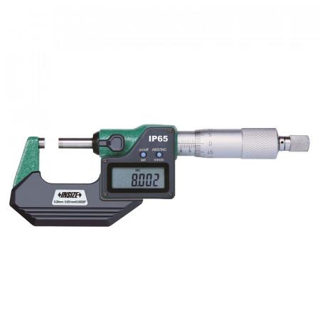 Micrometru Digital INSIZE 0-25mm 0.001mm IP65 3108-25A