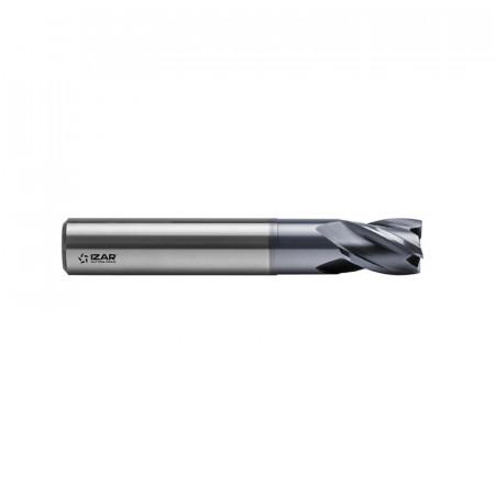 FREZA FINISARE CARBURA TORICA CROMAX 48-70HRC 4Z 1 mm R0.1