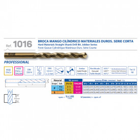 BURGHIU HSS 5%Co SPLIT POINT 2.2 mm SET 10