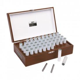 Cale de precizie cilindrice INSIZE Set 41 piese 1.00 - 5.00mm Pas 0.1mm
