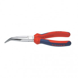 KNIPEX Cleste pentru mecanici, indoit 40 grade, bacuri semirotunde, cap cromat, 200mm