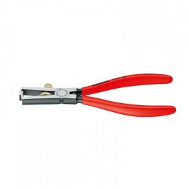 KNIPEX Cleste de dezizolat, maner izol plastic, 160mm