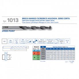BURGHIU HSS SPLIT POINT 7.1 mm SET 10
