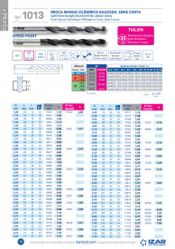 BURGHIU HSS SPLIT POINT 5.4 mm SET 10