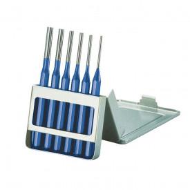 FORUM Dorn pentru splinturi, set 6 buc, cutie de tabla