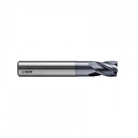 FREZA FINISARE CARBURA TORICA CROMAX 48-70HRC 4Z 8 mm R0.5