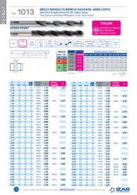 BURGHIU HSS SPLIT POINT 4.9 mm SET 10