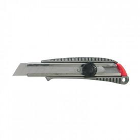 NT CUTTER Cutter cu maner de metal 18mm, cu surub