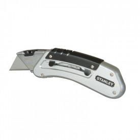 STANLEY Cutter cu lama retractabila, trapezoidala, Quickslide, 145mm