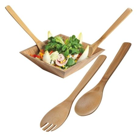 Bamboo salad servers Capua