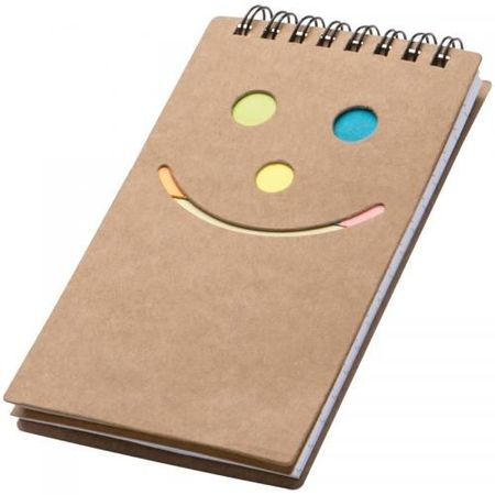 Notepad Smile face
