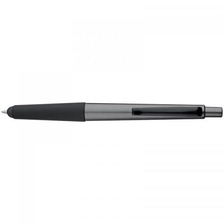 Plastic ballpen with touch pad