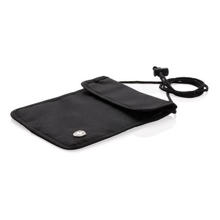 RFID anti-theft neck pouch