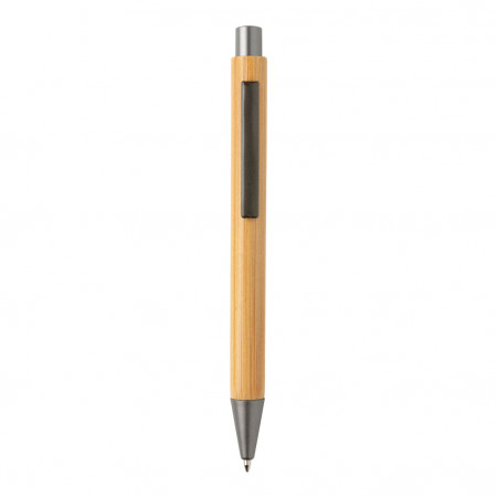Slim design bamboo pen