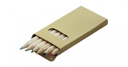 Colour pencils 6 pcs BARVA