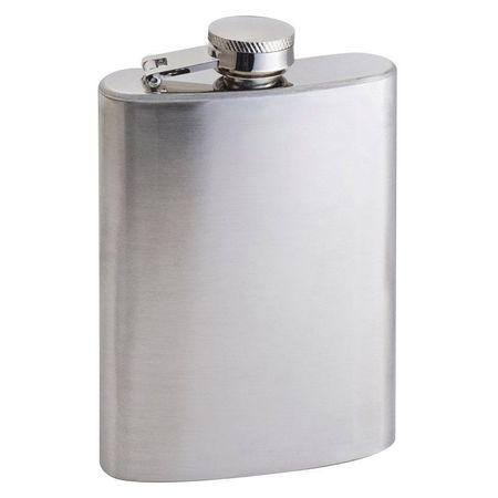 Stainless steel hip flask Fresno