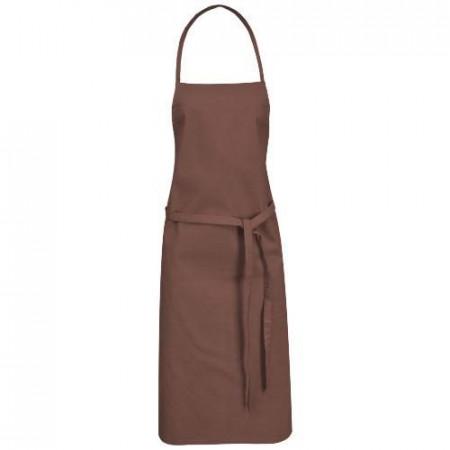 Reeva 100% cotton apron with tie-back closure