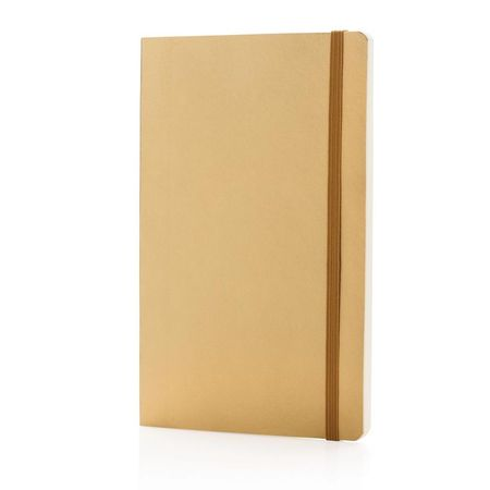 Deluxe metallic softcover notebook