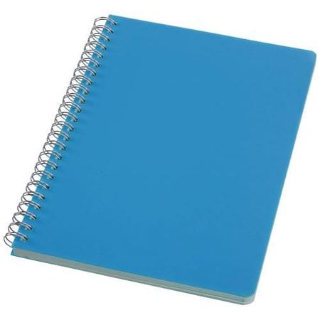 Happy-colours large spiral notebook