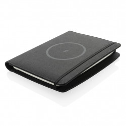 Air 5W wireless charging notebook with 5000mAh powerbank