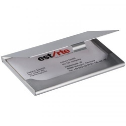 Aluminium business cardholder