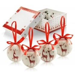 Christmas tree ornament set - 4 pcs