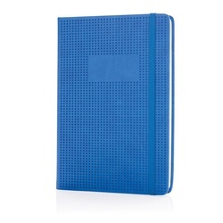Deluxe hollowed hardcover PU notebook
