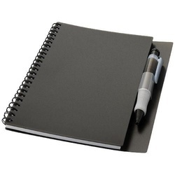 Hyatt notebook with pen
