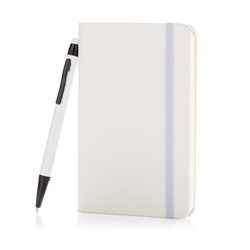 Standard hardcover A6 notebook with stylus pen