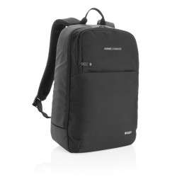 Swiss Peak laptop backpack with UV-C steriliser pocket