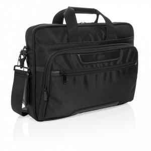"""Swiss Peak RPET Voyager RFID 15.6"""" laptop bag"""