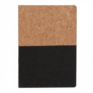 Eco cork notebook