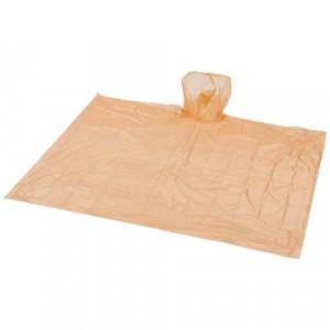 Huko disposable rain poncho with storage pouch