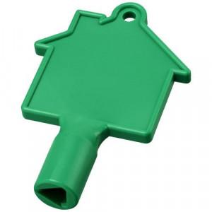 Maximilian house-shaped meterbox key